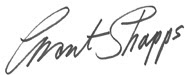 Grant Shapps signature