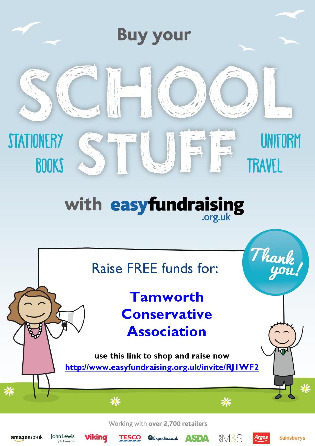 easyfundraising SchoolStuff
