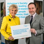 Christopher Pincher MP with Alzheimer's Society Ambassador Angela Rippon