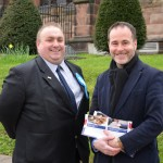 Cllr Andrew James & Christopher Pincher