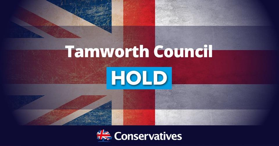 Conservative Party holds Tamworth Borough Council